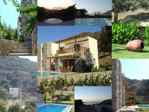 Gumusluk Villa collage