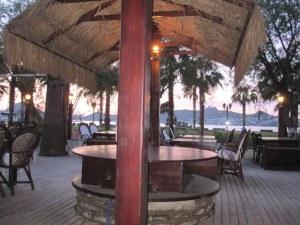 Al Fresco dining at Musti's Steakhouse, Yalikavak, 20 minutes' drive from Gumusulk Villa