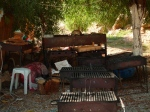BBQs  for hire at Yalikavak Public Beach