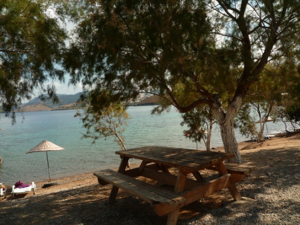Yalikavak beach off the tourist track